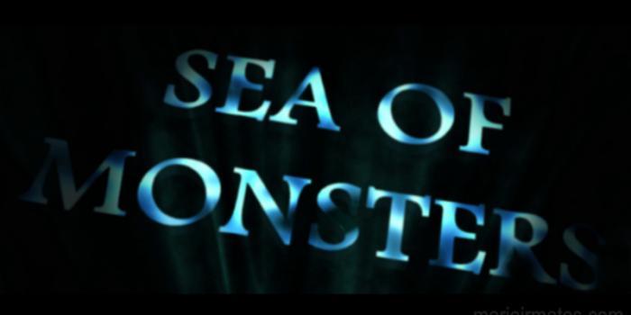 Underwater title animation